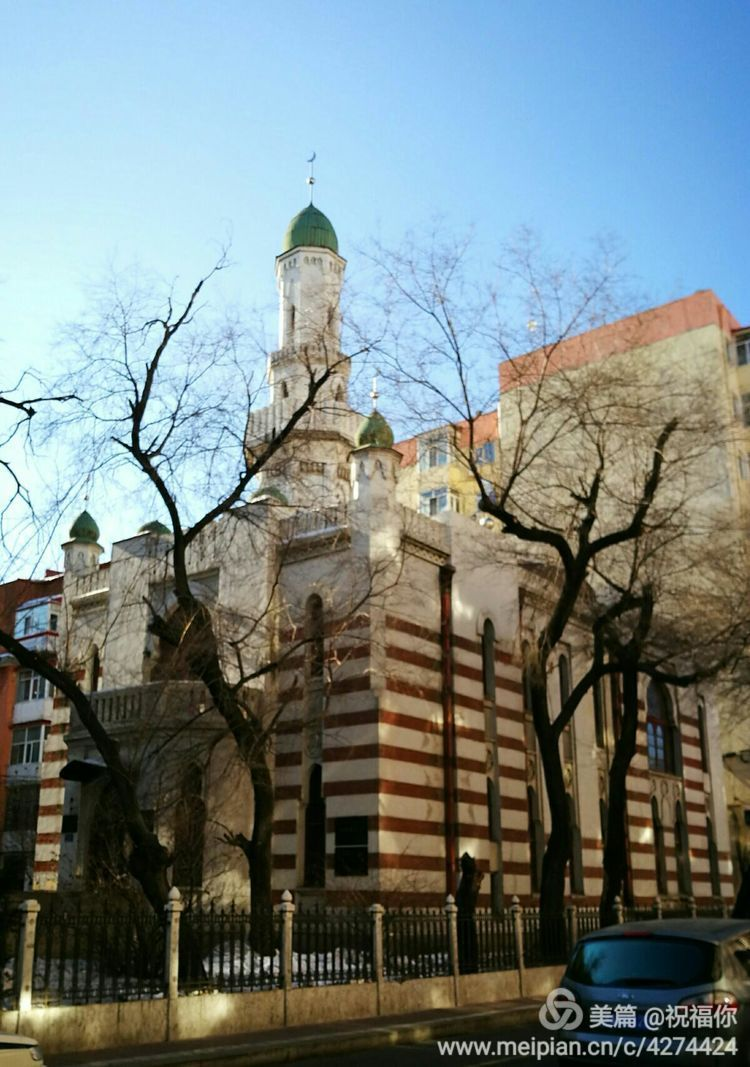 鞑靼清真寺内部