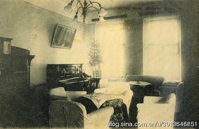 哈尔滨霍库曼旅馆内部