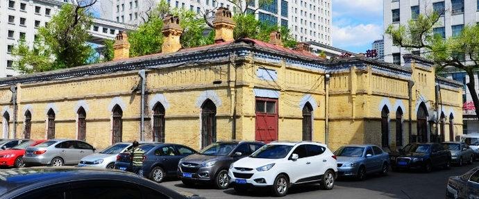 网络图片,哈尔滨东清铁路中央医院旧址