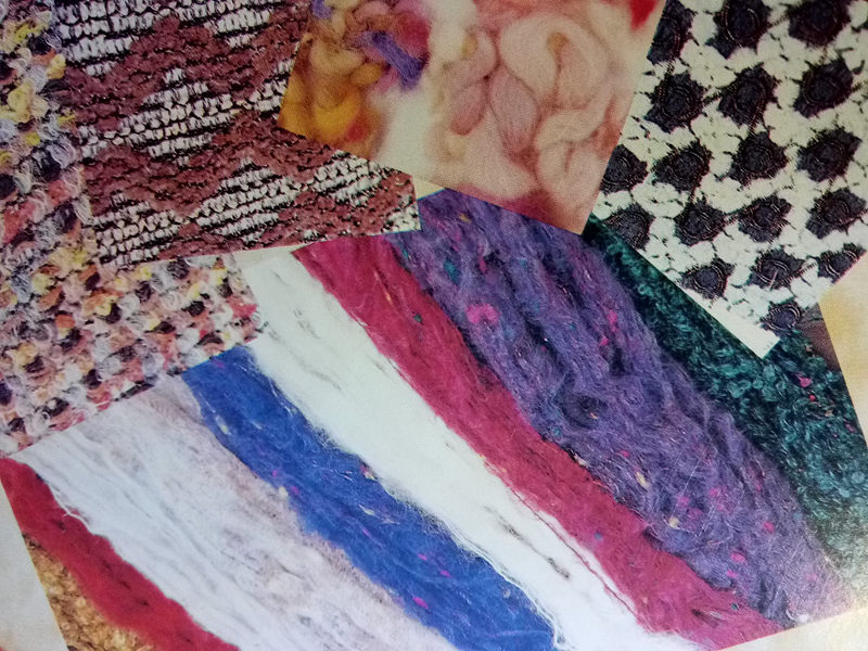 各种针织绒线