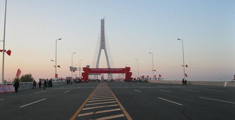 2010年10月8日 即将通车的松浦大桥