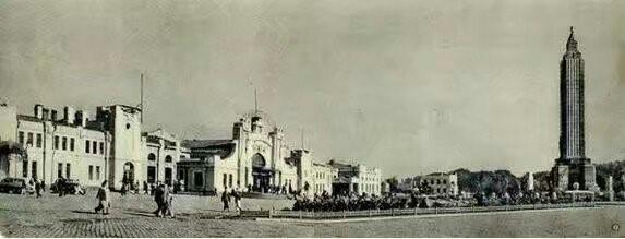 第一次改造后的哈尔滨站